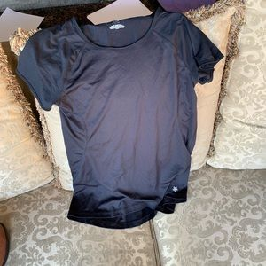 2 work out shirts and pair of spandex